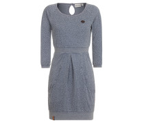 Kleid 'Dress The End' taubenblau