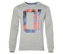Sweatshirt rauchblau / graumeliert / lachs