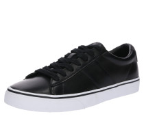 Sneaker 'Sayer leather' schwarz
