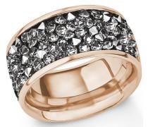 Fingerring rosegold / grau