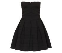 Bandeau-Kleid in Mini-Länge schwarz