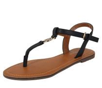 Sandale navy / honig