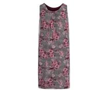 Kleid rosé / schwarz / weiß
