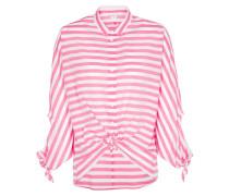 Dreiviertelarm Bluse 1863 pink / weiß