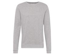 Sweatshirt 'Garon' hellgrau / graumeliert