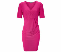 Bodyform-Jerseykleid mit Wickel-Optik