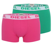 Pants im 3er-Pack gelb / grün / pink