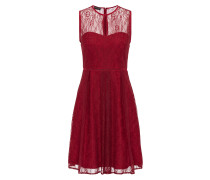 Kleid rubinrot
