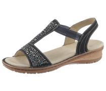 Sandale 'Hawaii' schwarz