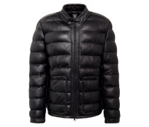 Lederjacke 'Copper Mountain' schwarz