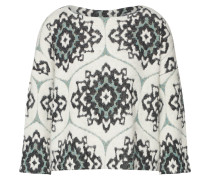 Pullover 'india' schwarz / weiß