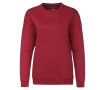 Sweatshirt 'Luvua' dunkelrot