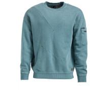 Sweatshirt 'tangent' taubenblau