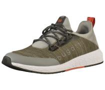 Sneaker grau / oliv