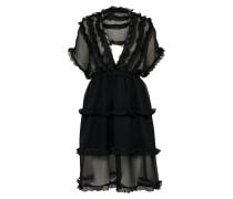 Kleid 'silk' schwarz