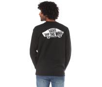 Sweatshirt 'Exposition' schwarz / weiß