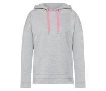 Sweatshirt hellgrau / rosa