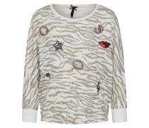 Pullover 'zebra' offwhite
