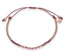 Armband rosegold / dunkellila