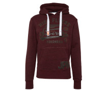 Sweatshirt 'high Flyers Hood' weinrot
