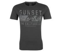 Jerseyshirt grau / schwarz