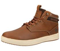 Sneaker kastanienbraun / ocker