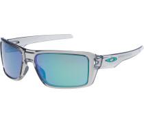 'Double Edge' Sonnenbrille grau