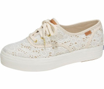 Sneaker 'Triple Embroidered Crochet' offwhite