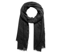 Schal mit Knittereffekt anthrazit