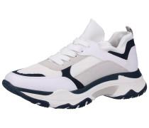 Sneaker nachtblau / hellgrau / weiß