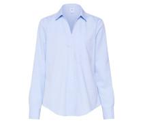 Bluse 'fittedbfshirt-Oxford' blau