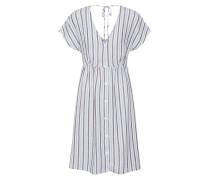 Kleid 'wendy' hellblau / weiß