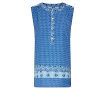 Top 'SL Femme Popover Print' blau