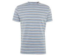 T-Shirt 'nilas 2108' blau / grau