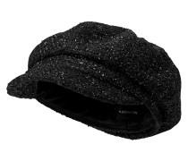 Schirmmütze schwarz
