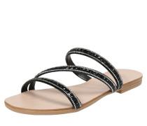 Sandale 'Nil Juwel Slide' schwarz