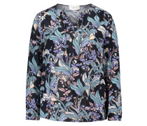 Bluse nachtblau / mischfarben