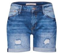 Denim-Shorts 'Pixie' blue denim