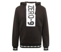 Sweatshirt 'jcorookie' grau / schwarz