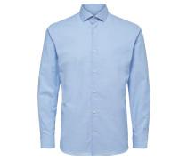 Langarmhemd blau / hellblau