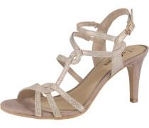 Sandaletten beige / gold