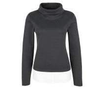 Cropped-Sweatshirt mit Layering