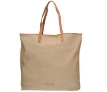 Deborah Shopper Tasche 40 cm beige / camel