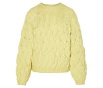 Pullover hellgelb