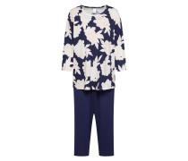 Nachtwäsche 'Soft Jersey Fun' blau