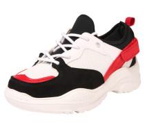 Sneaker rot / schwarz / offwhite