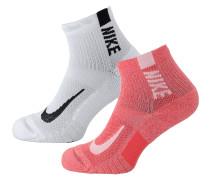 Socken grenadine / schwarz / weiß