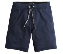 Shorts 'tricot Piping' navy