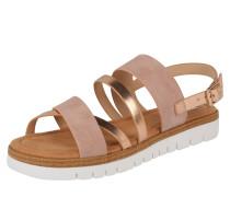 Sandale 'dama' goldgelb / rosé