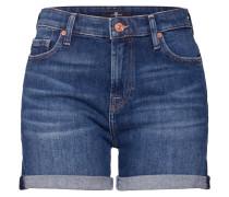 Jeans 'boy Shorts' blue denim